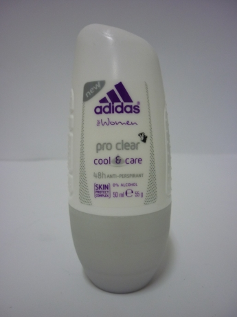 ADIDAS PRO CLEAR cool & care рол он 50 мл. дамски