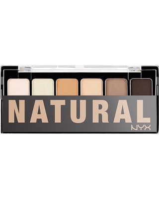 NYX THE NATURAL SHADOW PALETTE TNS01 палитра сенки
