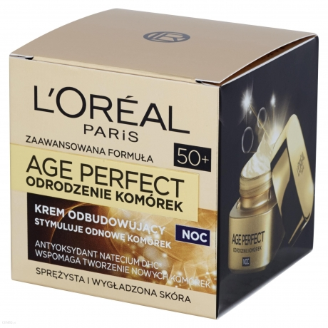 L'Oreal Paris AGEPerfection Cream 50+  50ml нощен крем